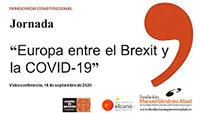 Europa entre el Brexit y la COVID-19