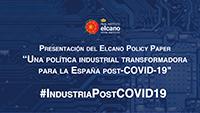 Una política industrial transformadora para la España post COVID-19