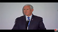 Vice President Mike Pence delivers remarks to the Lima Group in Colombia