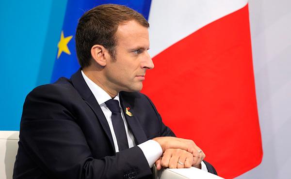 Emmanuel Macron en una foto de archivo. Foto: Kremlin.ru / Wikipedia Commons (CC BY 2.0)