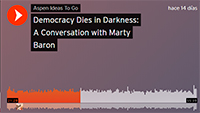 Democracy dies in darkness: a conversation with Marty Baron
