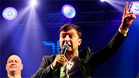 Comedian leads in Ukraine presidential race