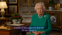 The Queen's broadcast to the UK and Commonwealth