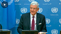 Press Conference: The incoming President of the General Assembly, Mr. Volkan Bozkir