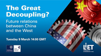 The great decoupling? The future of relations between China and the West